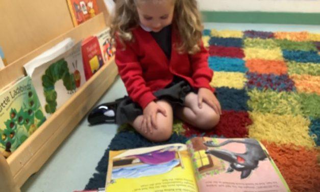 Settling into Nursery!