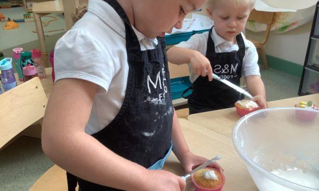 Super Baking in Nursery!