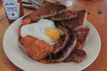 Cherry Reds Full English Breakfast - Courtesy of www.OutInBrum.com