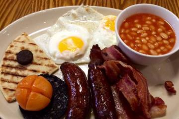 Coast to Coast Full English Breakfast
