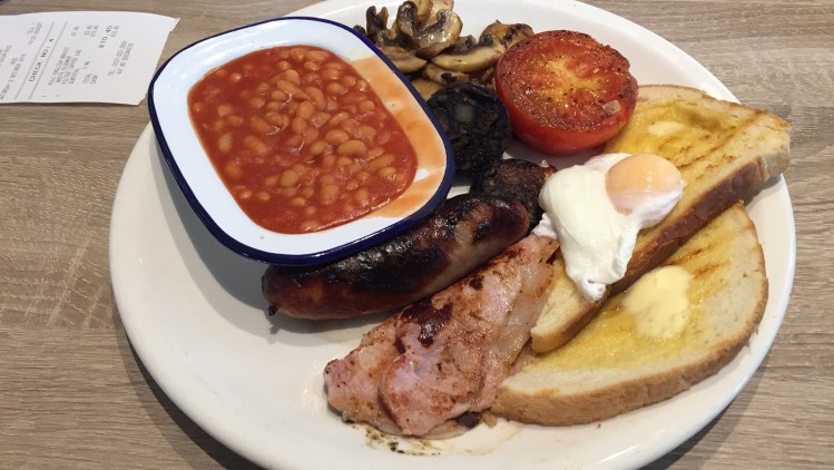 Farmhouse Bistro Full English Breakfast