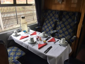 Flying Scotsman Interior