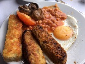 Flying Scotsman Vegetarian Breakfast