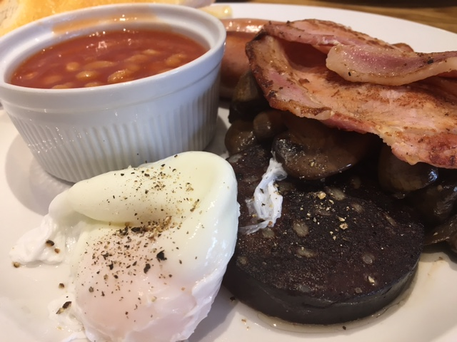 Katies Full English Breakfast Oct 2016