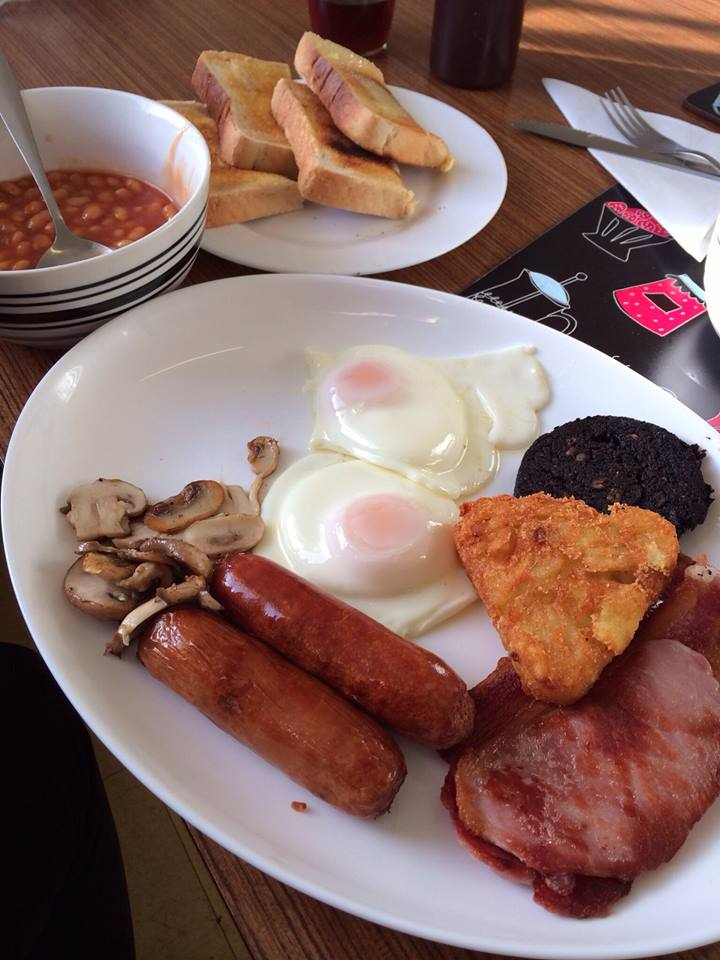 Moseley Road Cafe Full English Breakfast