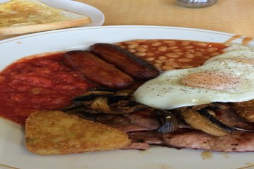 Olivias Cafe Fulll English Breakfast