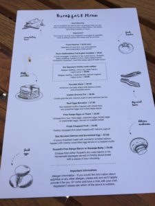 Poms Kitchen and Deli Breakfast Menu