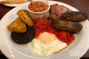 Wellington Hotel Full English Breakfast