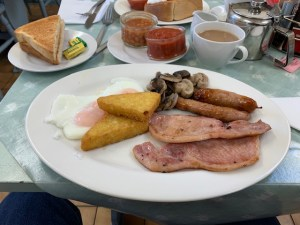 Honey Pot Tea Room - Full English Breakfast