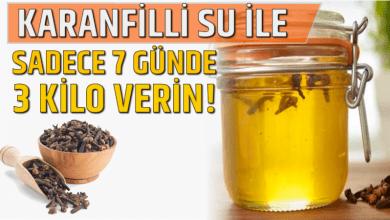Photo of Karanfilli Su ile Sadece 7 Günde 3 Kilo Verin!