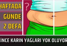 Photo of BİR HAFTADA, GÜNDE 2 DEFA İÇİNCE KARIN YAĞLARI YOK OLUYOR!