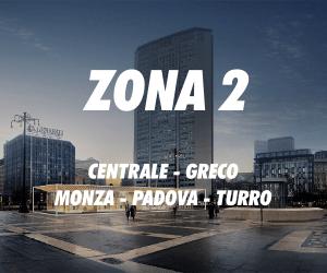 Zona 2 Milano Centrale Greco Monza Padova Turro
