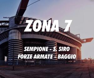 Zona 7 Milano Sempione San Siro Forze Armate Baggio
