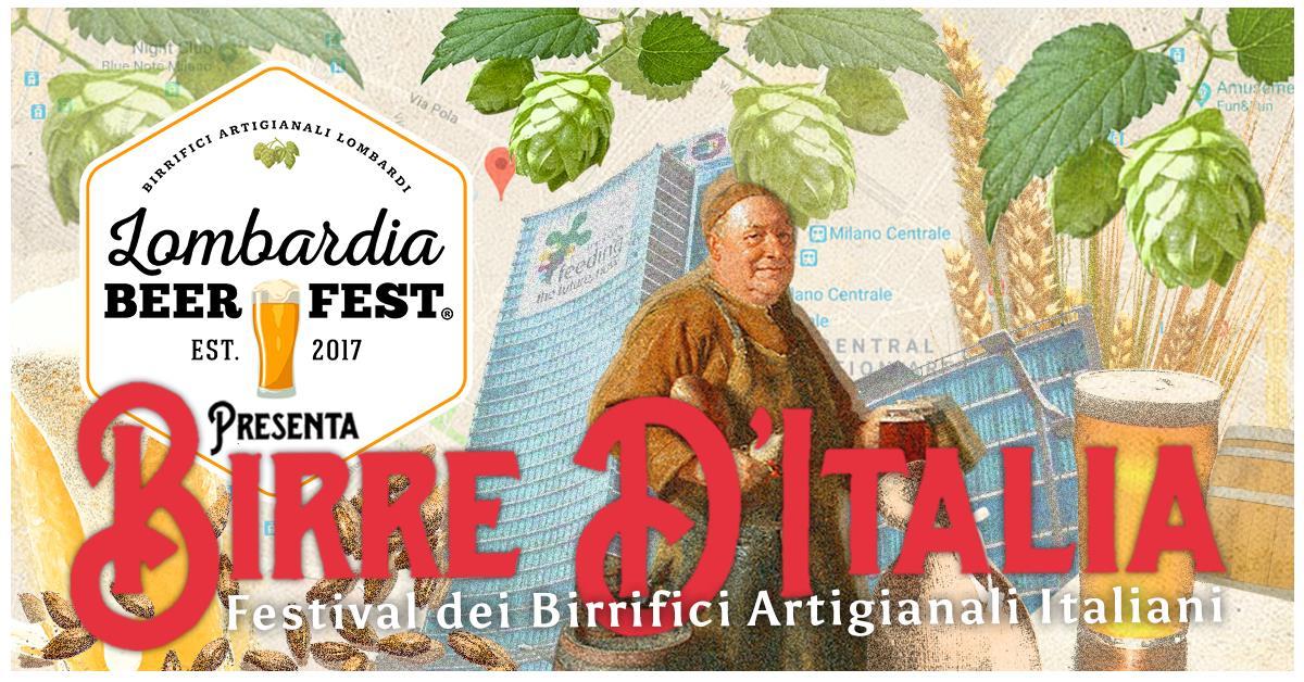 Birre d'Italia 2018 festival dei birrifici artigianali italiani milano