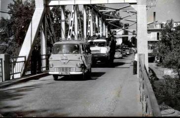 Manavgat Köprüsü Üzerinden Geçen Eski Taşıtlar