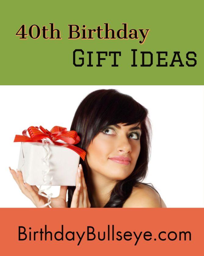 40th Birthday Gift Idea