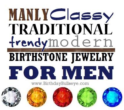 Birthstone for Men