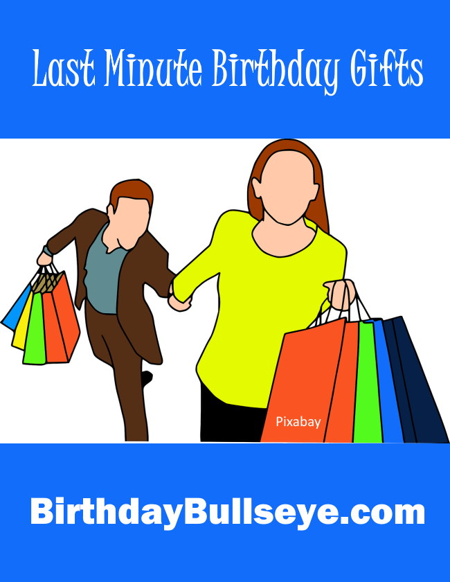 last minute birthday gifts image