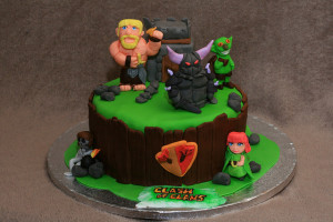Clash Of Clans Birthday Cake Birthday Buzzin