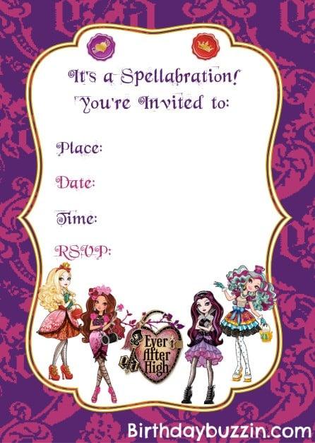 Printable Invitations Free Templates