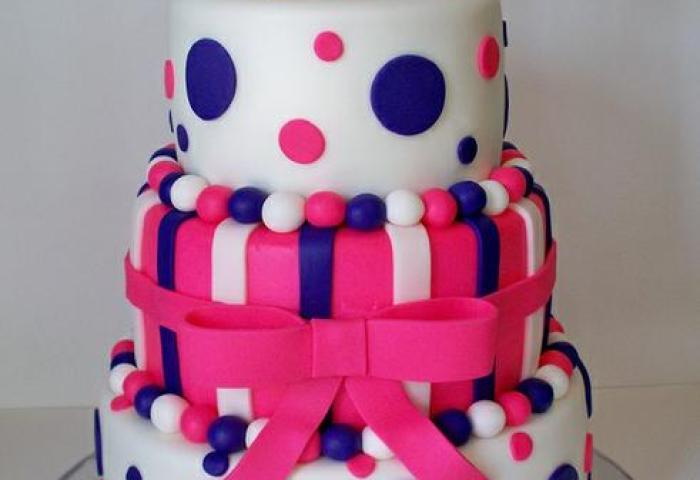 Hot Pink And Purple 21st Birthday Cakebest Birthday Cakesbest