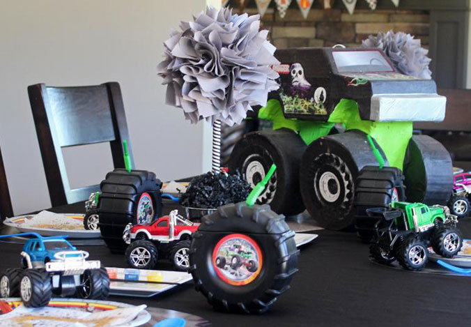 Monster Jam Birthday By Craft That Party Birthday Express