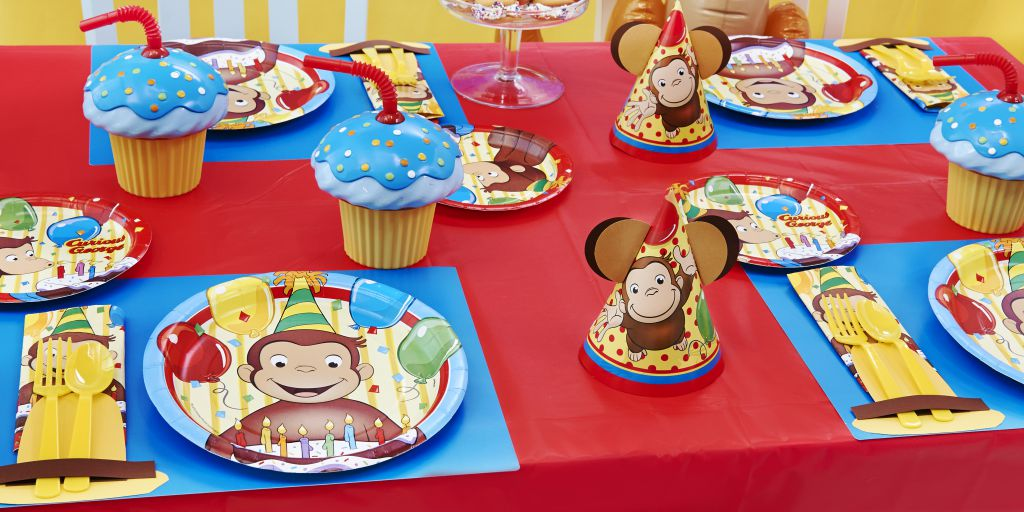 Curious George Party Birthday Express
