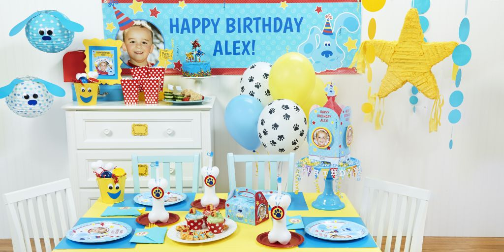 Blue S Clues Party Birthday Express