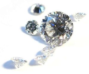 Faceted Diamond