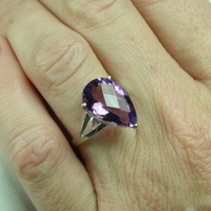 Amethyst Ring February Birthstone