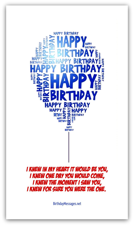 Romantic Birthday Poems Page 2