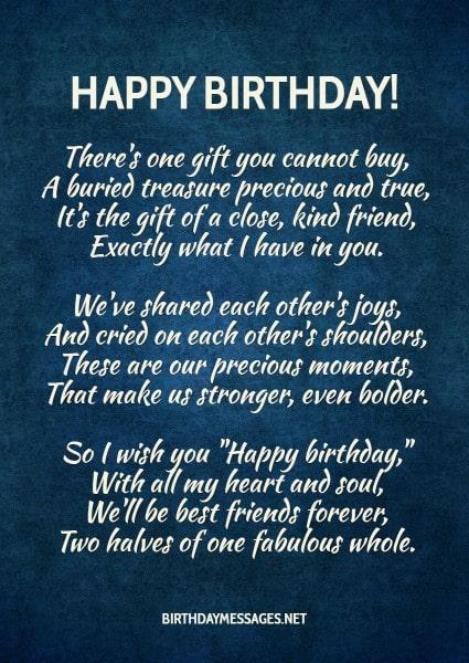 Birthday Poems Heartfelt Humorous Happy Birthday Poems