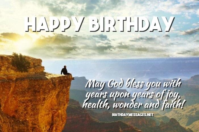 Religious Birthday Wishes Quotes Spiritual Birthday Messages
