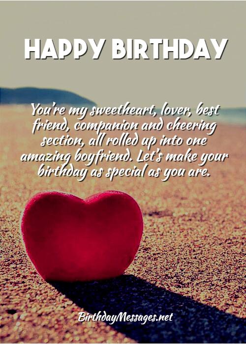 Boyfriend Birthday Wishes Birthday Messages For Boyfriends