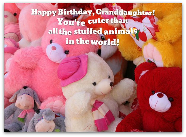 Granddaughter Birthday Wishes Loving Birthday Messages