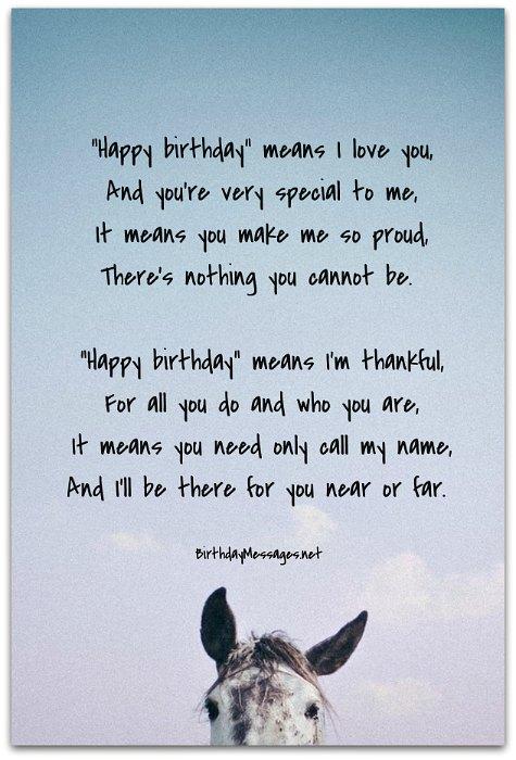 Sentimental Birthday Poems Page 2