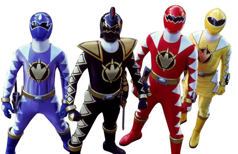 Power Ranger Costume Characters
