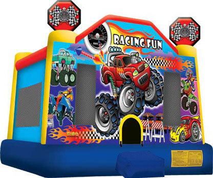 Monster Truck Jumper Bounce House Party Rental For Los Angeles Orange And Ventura County