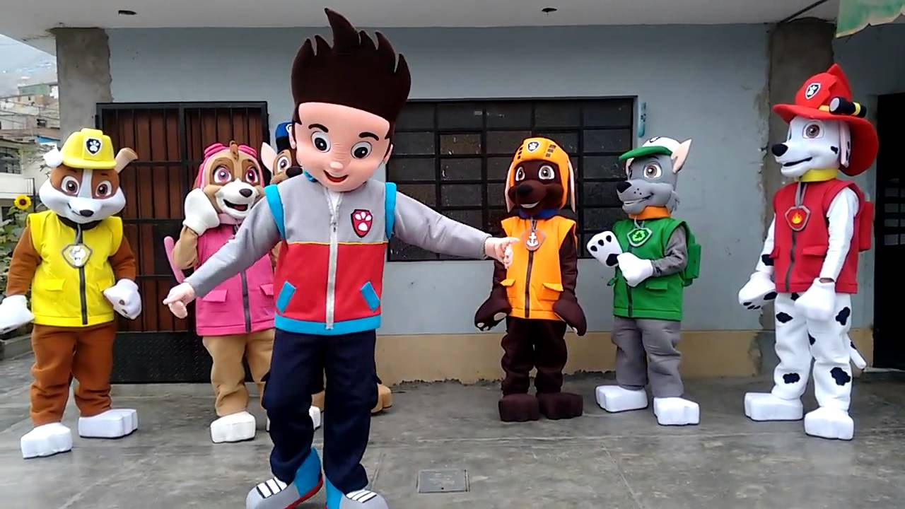 Ryder From Paw Patrol Birthday Party Characters For Kids Parties