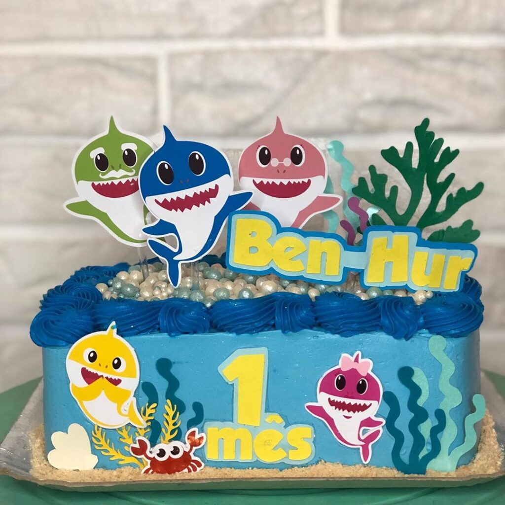 20 Best Baby Shark Birthday Cake Of 2021 Birthday Party Ideas