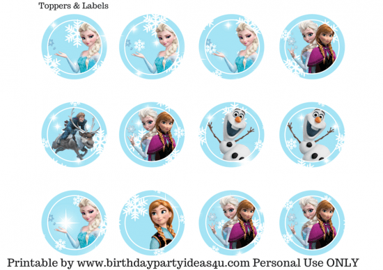 picture regarding Frozen Invite Printable identified as Totally free Frozen Occasion Printable - Birthday Get together Designs Themes
