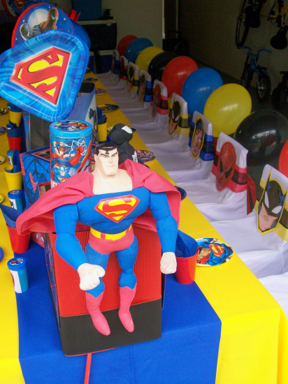 Ideas Food Superman Party