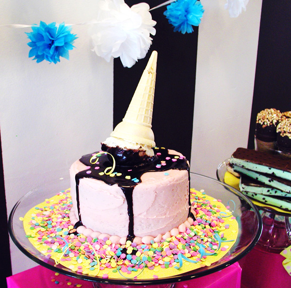 Good Old Fashioned Ice Cream Party Birthday Party Ideas