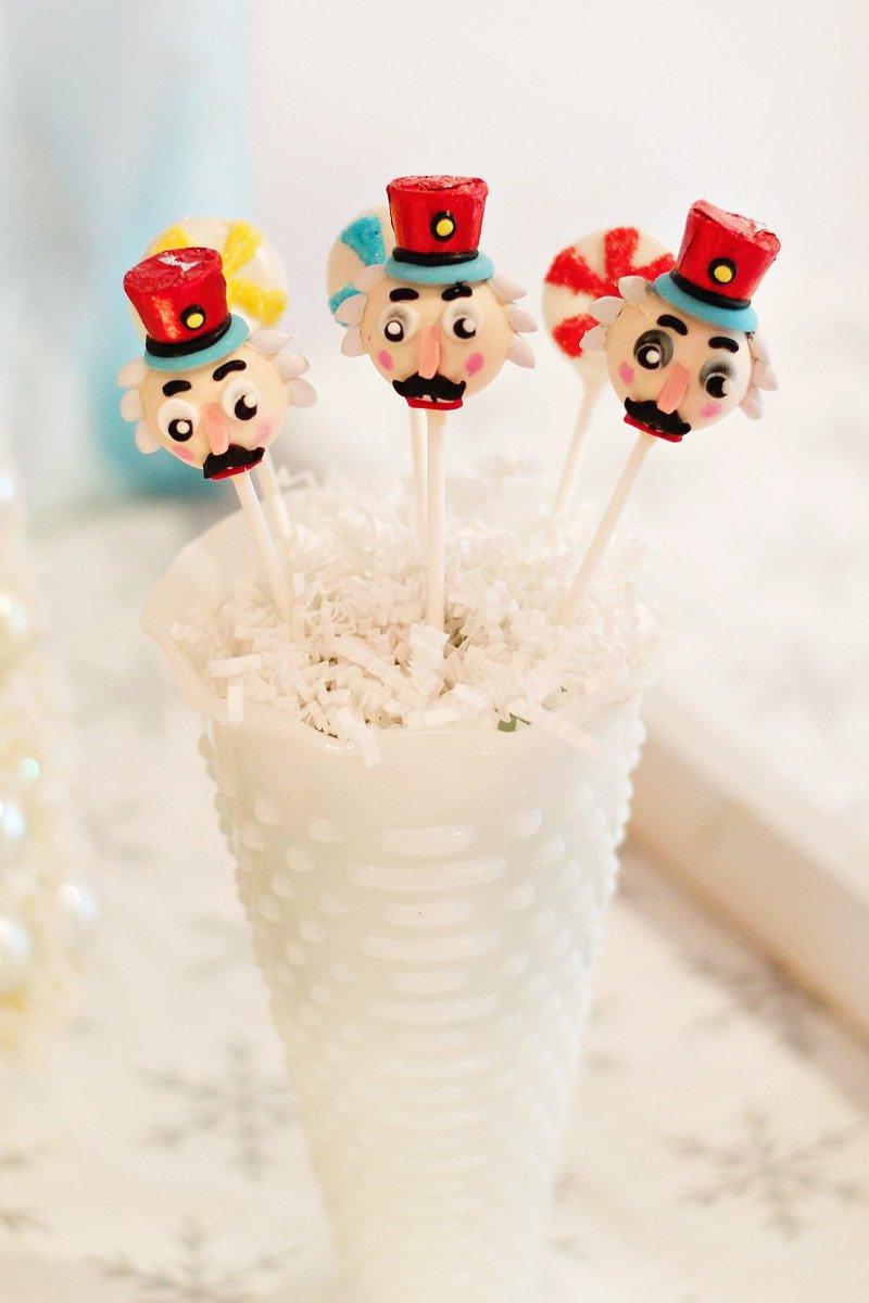 Nutcracker Inspired Winter Ballet Party Birthday Party