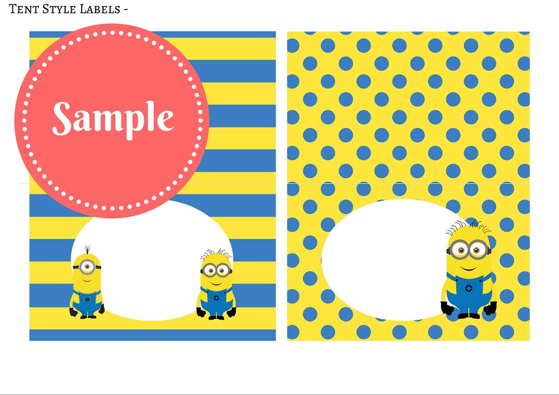 free minion party printable birthday