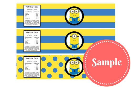 Free Minion Party Printable Birthday Party Ideas Themes