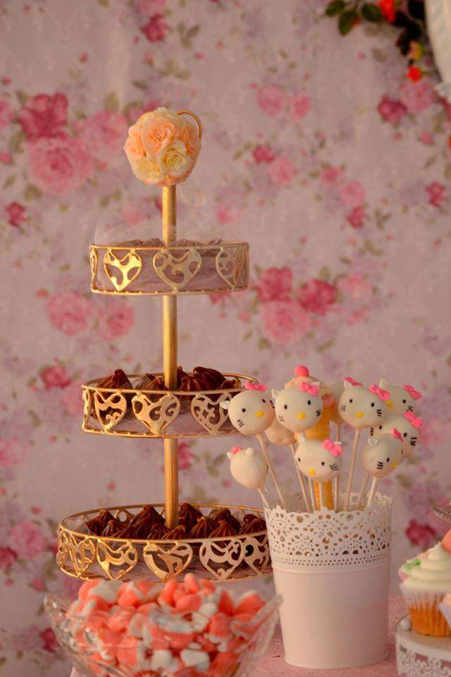 Vintage Chic Hello Kitty Party Birthday Party Ideas Amp Themes