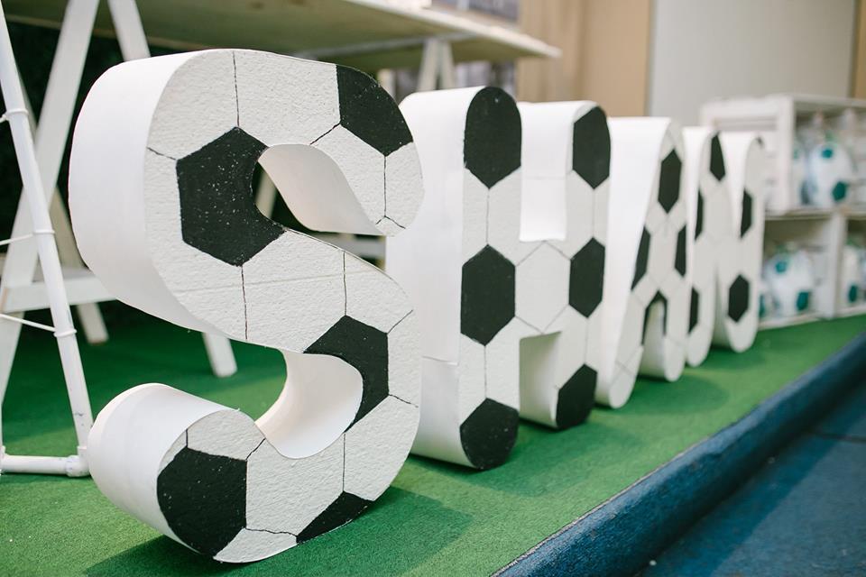 Modern Soccer Football Club Party Birthday Party Ideas