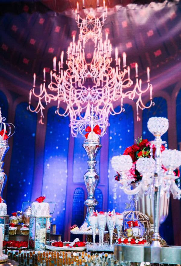 Golden Beauty And The Beast Birthday Birthday Party