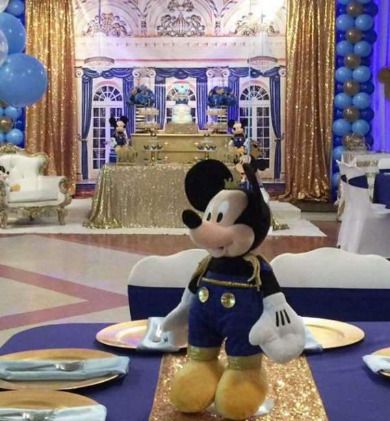 Royal Mickey Mouse Birthday Party Extravaganza Birthday